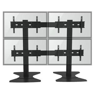 TygerClaw 30-in to 60-in 4 Flat Panel TV Stand