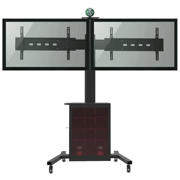 TygerClaw 30-in to 60-in 2 Flat Panel TV Stand