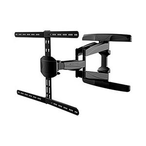 TygerClaw 32-in to 65-in Black Full Motion Wall Mount