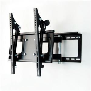 TygerClaw 23-in to 42-in Black Full Motion Wall Mount