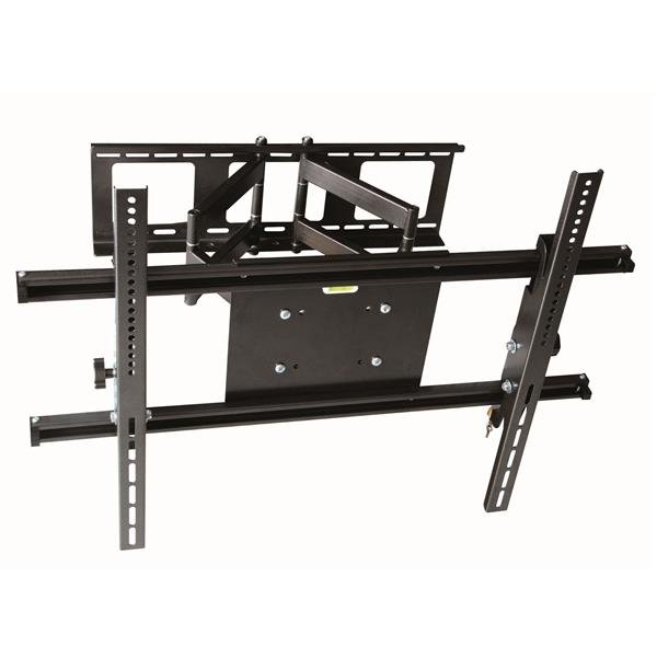 TygerClaw 37-in to 70-in Black Full Motion Wall Mount
