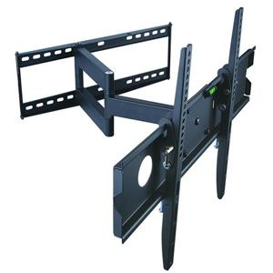 TygerClaw 32-in to 63-in Black Full Motion Wall Mount