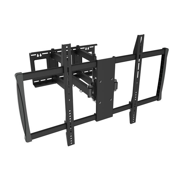 TygerClaw 60-in to 100-in Black Full Motion Wall Mount