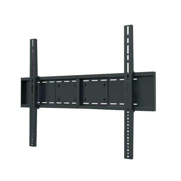 TygerClaw 46-in to 110-in Black Fixed Wall Mount