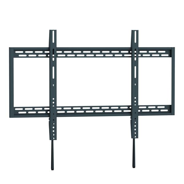 TygerClaw 60-in to 110-in Black Fixed Wall Mount