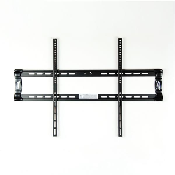 TygerClaw 37-in to 70-in Black Fixed Wall Mount