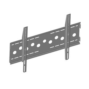 TygerClaw 36-in to 55-in Gray Fixed Wall Mount