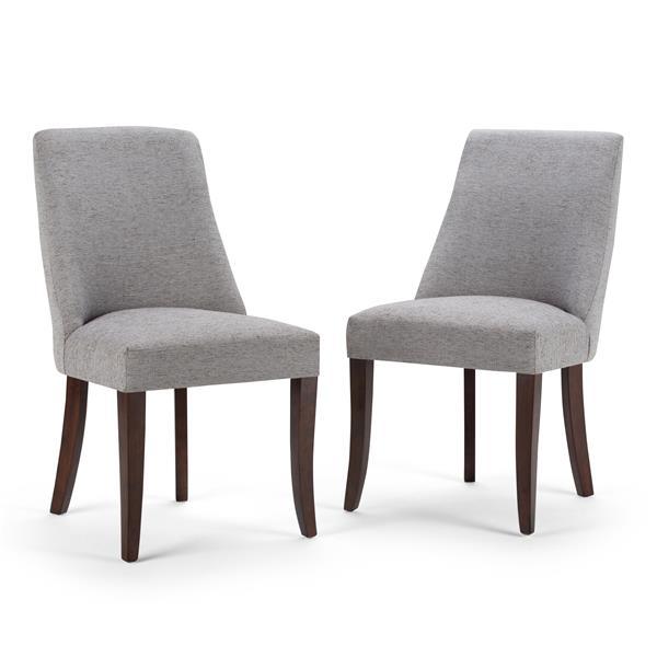 """Chaises de salle à manger Walden, 18.1"""", gris, 2 mcx"""