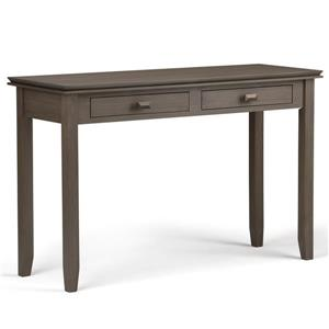 Artisan 29.5-in Farmhouse Gray Console Sofa Table