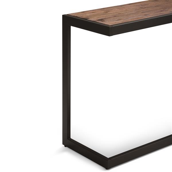 Simpli Home Erina Console Sofa Table - Acacia and Metal - 30-in