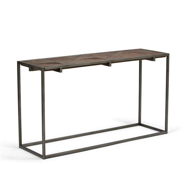 Simpli Home Avery 29.9-in Brown Console Sofa Table