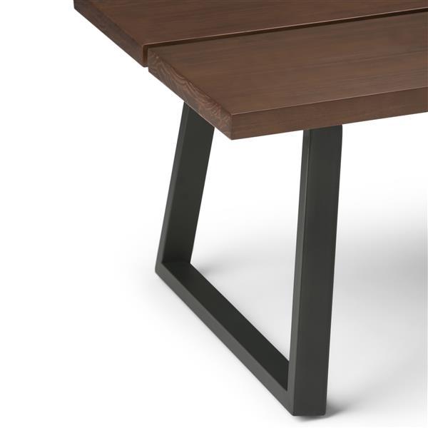 """Table à café Adler, 48"""" x 28"""" x 18,5"""", bois, brun"""