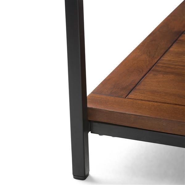 "Table à café carrée Skyler, 34"" x 34"" x 18"", bois, brun"