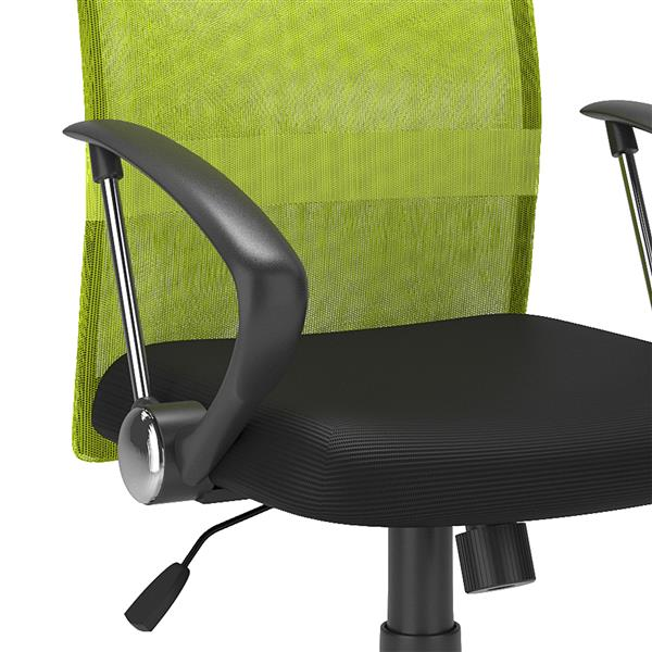CorLiving 20.00-In x 19.00-In Contoured Lime Green Mesh Back Office Chair