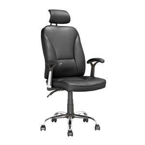 Chaise de bureau exécutive inclinable, noir
