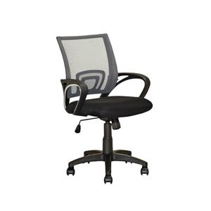 Core Living 22.00-In x 18.25-In Dark Grey Mesh Back Office Chair