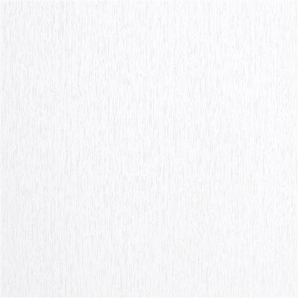 """Bibliothèque Quadra avec faux-fini de bois, 71"""", blanc"""