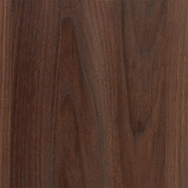 CorLiving Quadra Tall Bookcase 24 x 47-in Faux Woodgrain Finish Walnut