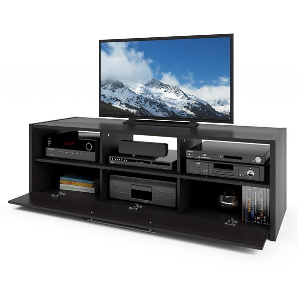 CorLiving Naples Black TV Stand for TVs up to 68 inches