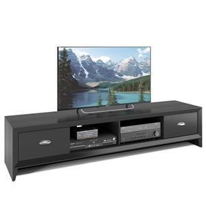 CorLiving Lakewood Black Extra Wide TV Stand