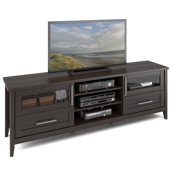 CorLiving Jackson Espresso Extra Wide TV Stand