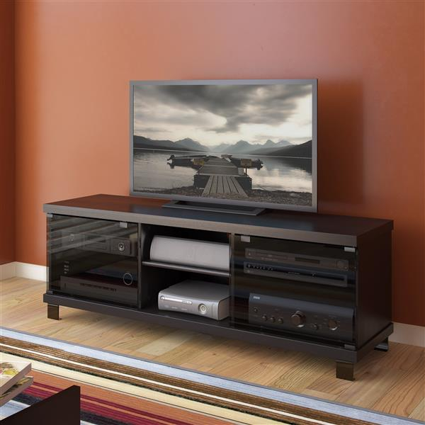 CorLiving Holland Ravenwood Black TV Stand for TVs up to 68 inches