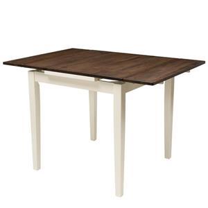 Table extensible Dillon avec 2 rallonges de 8