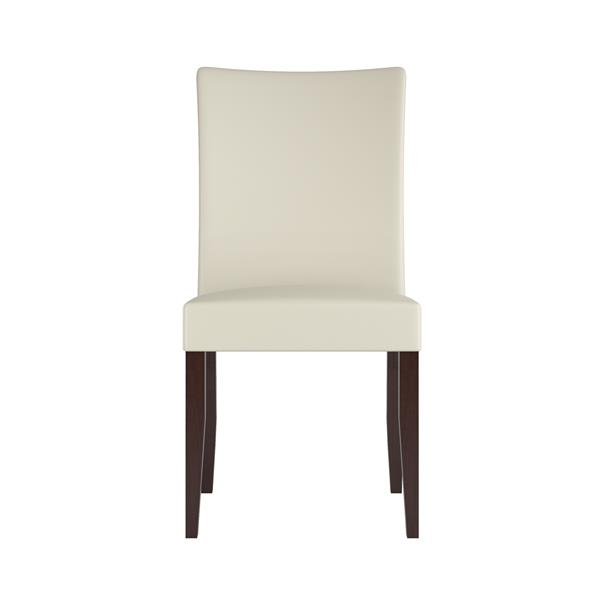 CorLiving Off-White 18-in X 39-in Dining Chairs Set of 2