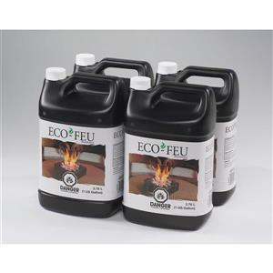 Eco-Feu 3.78 L Superior Quality Ethanol (4 Pack)