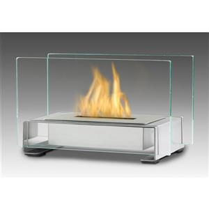 Eco-Feu Stainless Steel Toulouse Tabletop Fire Feature