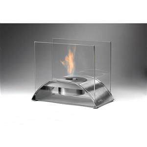 Sunset Tabletop Fire Feature - Stainless