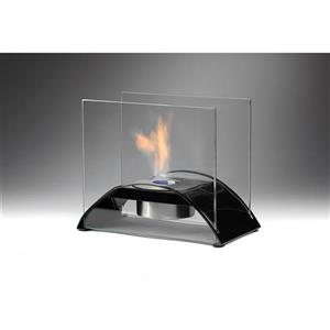 Eco-Feu Gloss Black Sunset Tabletop Fire Feature