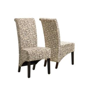Monarch Specialties Brown Dining Chair (Set of 2)