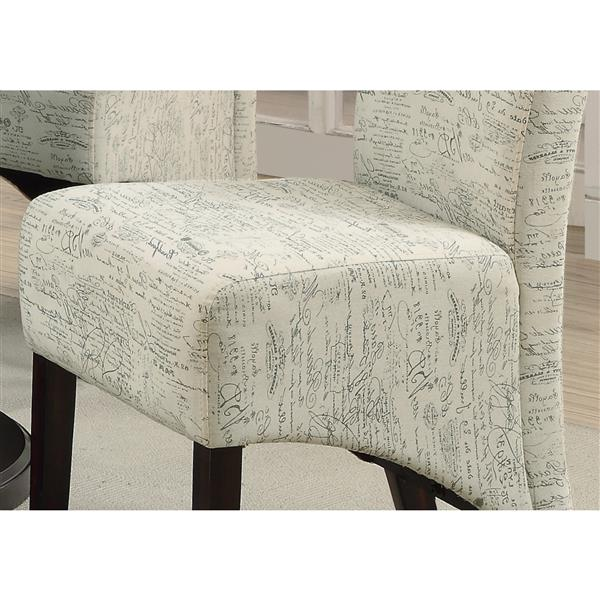 Monarch  Cream Dining Chair (Set of 2)