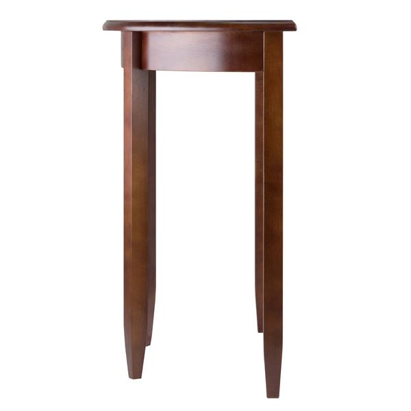 Winsome Wood Concord 31.97-in x 30-in Walnut Wood Table