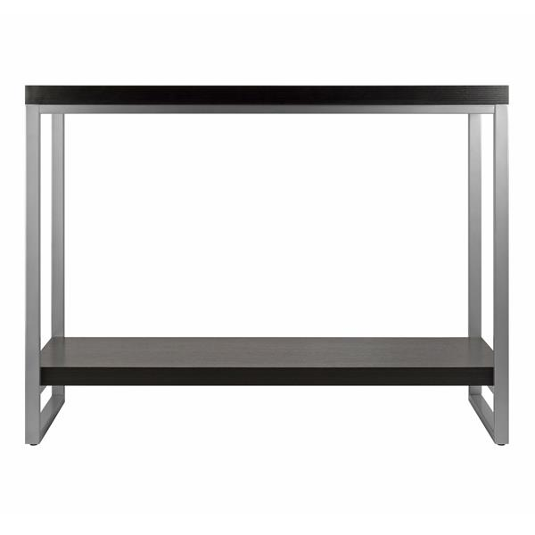 Winsome Wood Jared 31.2-in x 40-in Espresso Wood Table