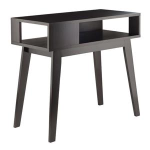 Winsome Wood Thompson 34.83in x 34.02-in Espresso Wood Table