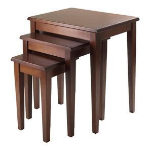 """Table Regalia, 20"""" x 21,6"""", bois, noyer"""