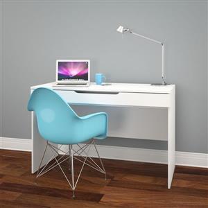 Nexera Arobas White Desk