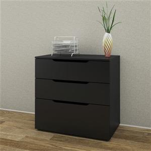 Next 3-Drawer Black Filing Cabinet