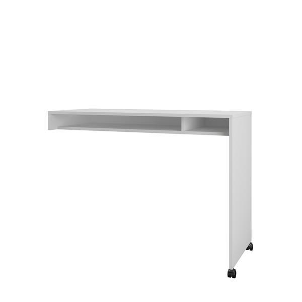Surface de travail réversible Essentiels, blanc