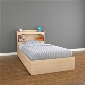 Nexera Alegria 2 Piece Maple Storage Bedroom Set
