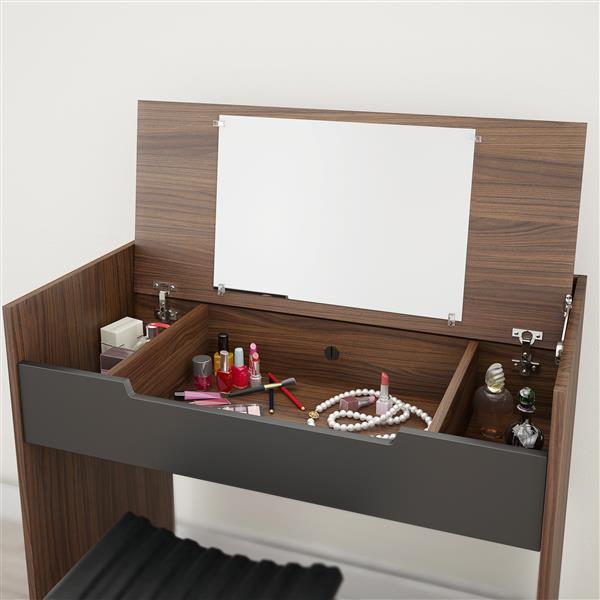 Nexera Cartel 5 Piece Walnut Queen Bedroom Set