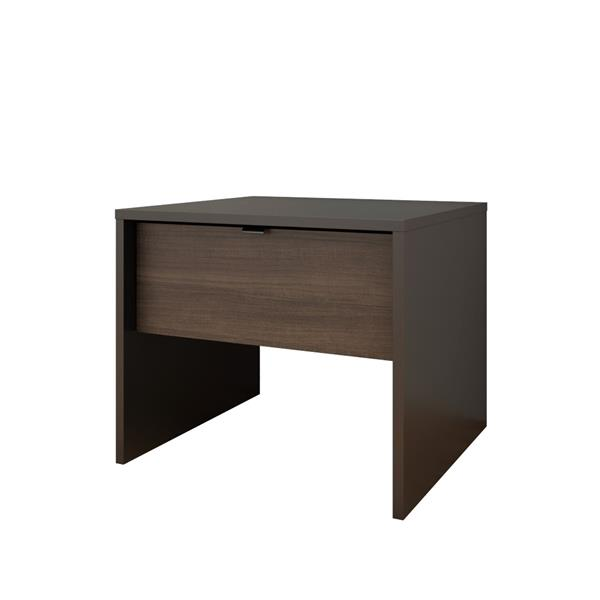 Nexera Veloci-T 4 Piece Black Twin Bedroom Set