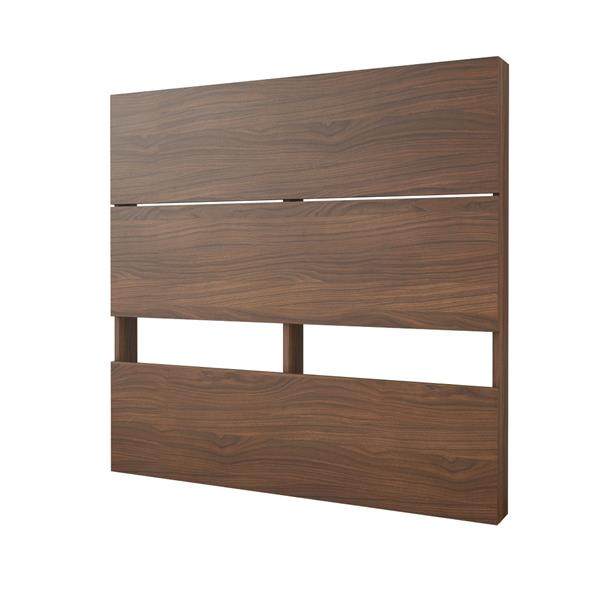 Nexera 2-Piece White/Walnut Twin Bedroom Set