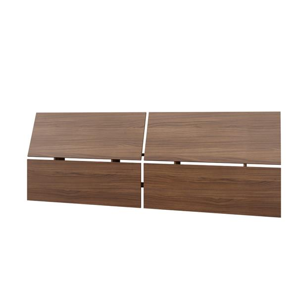 Nexera Sonoma 5 Piece Walnut and Black Queen Bedroom Set