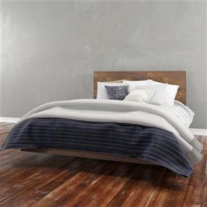 Ens. de chambre à coucher Nexera grand lit, 2 mcx, truffe