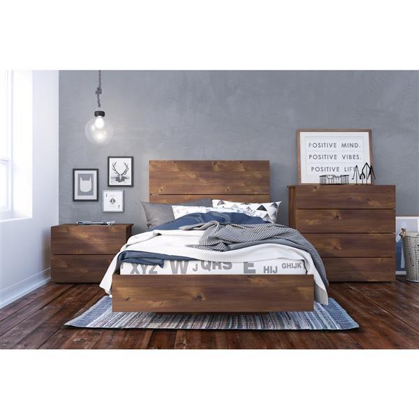 Ens. de chambre à coucher Karibou simple, 4 mcx, truffe