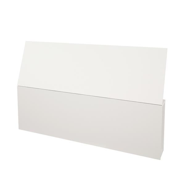 Nexera Esker 4 Piece Maple and White Queen Bedroom Set