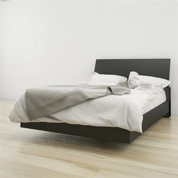 Nexera 2 Piece Black Full Bedroom Set